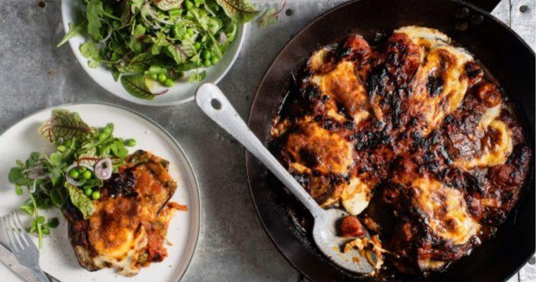 Eggplant Parmigiana – Smoked Mozarella