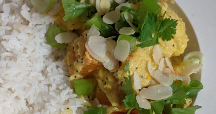 Creamy vegan Korma